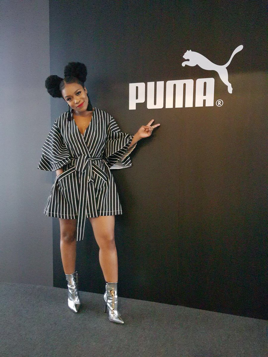 Nubian diva @NomzamoMbatha goes global with #Puma documentary series  http:// bit.ly/2uOQ6su  &nbsp;   #SouthAfrica #event #celebrity #beauty #London<br>http://pic.twitter.com/ISXu1NXDwO