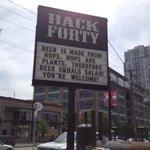 ビールは野菜?!ビールの宣伝文句がフリーダムすぎるwww