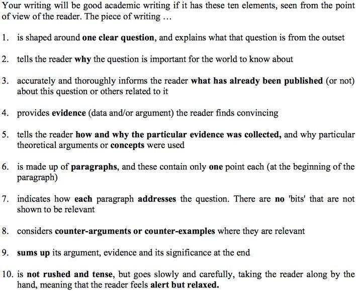 How good is your #academic writing? 10 key elements it should contain  http:// buff.ly/2uPFauz  &nbsp;   #phdchat #phdadvice #phdforum #ecrchat #acwri<br>http://pic.twitter.com/JQMJCe7j8H