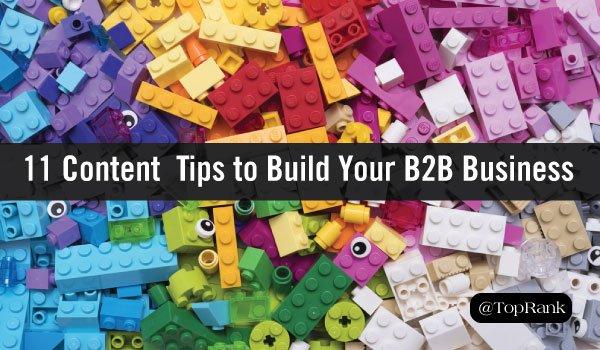 11 #ContentMarketing Tips to Build Your B2B #Business  http:// bit.ly/2gWM4ZA  &nbsp;  <br>http://pic.twitter.com/MGtPZcz7c9