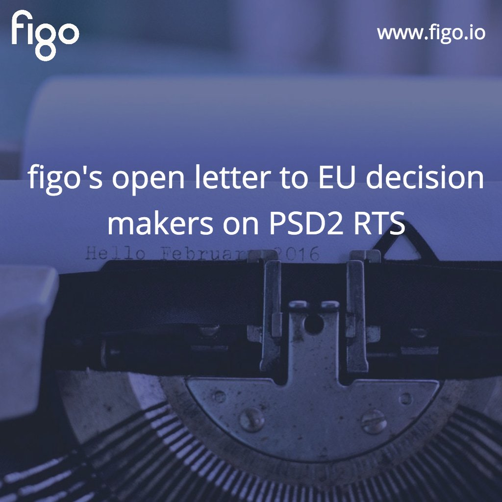 read!  figo publishes open letter to #EU decision makers on #RTS #PSD2! #Regulation #FinTech  http:// bit.ly/PSD2_Open_lett er-to_EU &nbsp; … <br>http://pic.twitter.com/lZaJMTDcrD