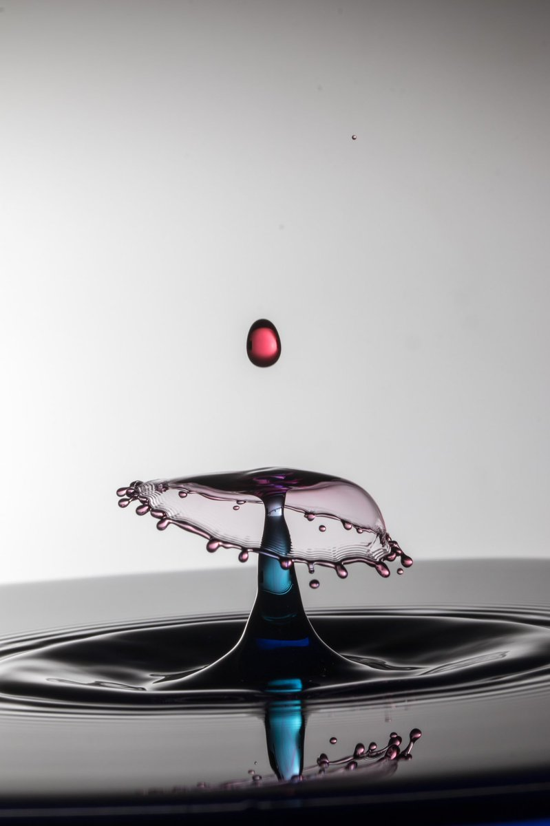 First attempt at a collision water drop. #water drops #splash #collision #WexMondays<br>http://pic.twitter.com/NgNqcJ0Ynv