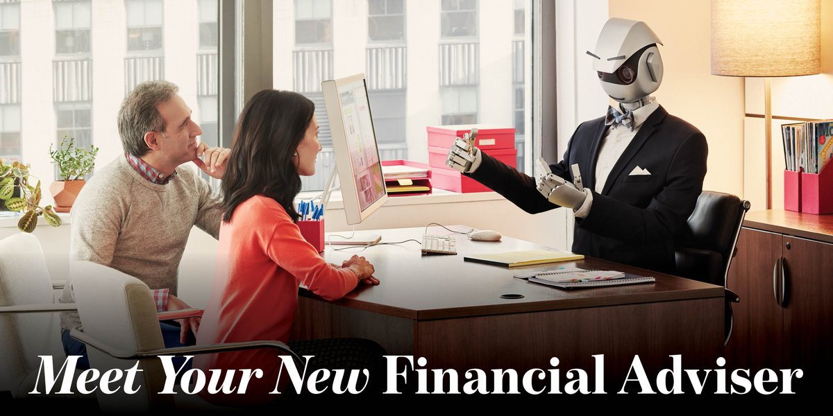 Why #Financial  #Advisers  Won't Succumb To The #Robots  Any Time Soon  http:// financial-technologist.com/financial-advi sers-wont-succumb-robots-time-soon &nbsp; …  via @The Financial Technologist #fintech #AI<br>http://pic.twitter.com/f9xplKNQFp