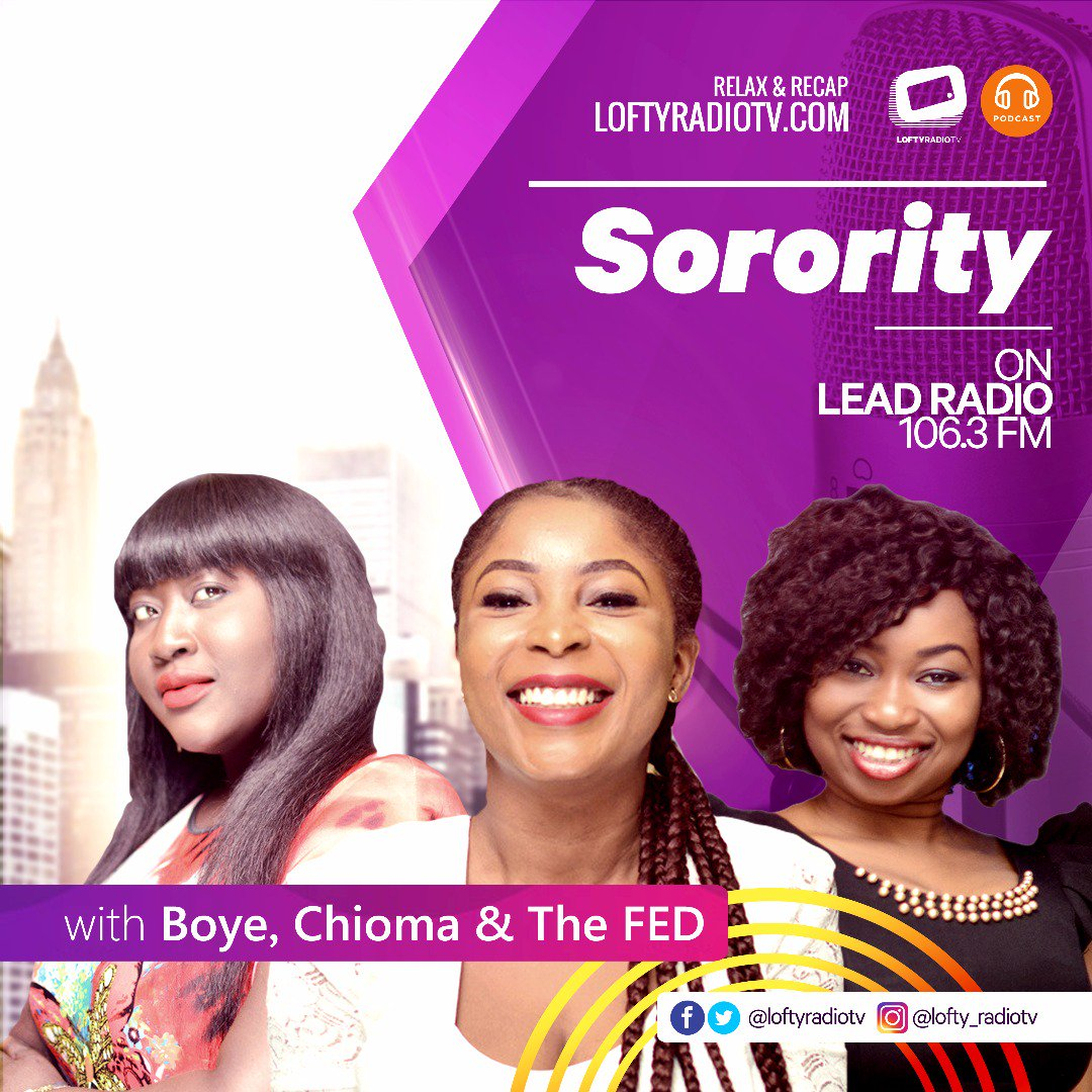 Relax &amp; Recap!  The Sorority {Episode 14}  https:// youtu.be/h90rW49N3-Q  &nbsp;    Catch-up on #Radio #TV shows, #Podcast &amp; #Vlog at  http:// loftyradiotv.com  &nbsp;  <br>http://pic.twitter.com/KH3Wx9TH6p