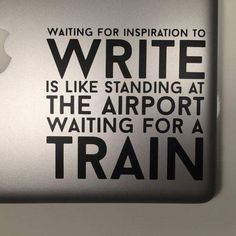 """""""You can&#39;t wait for #inspiration. You have to go after it with a club."""" ― Jack London <br>http://pic.twitter.com/JqMiP0ewBh"""