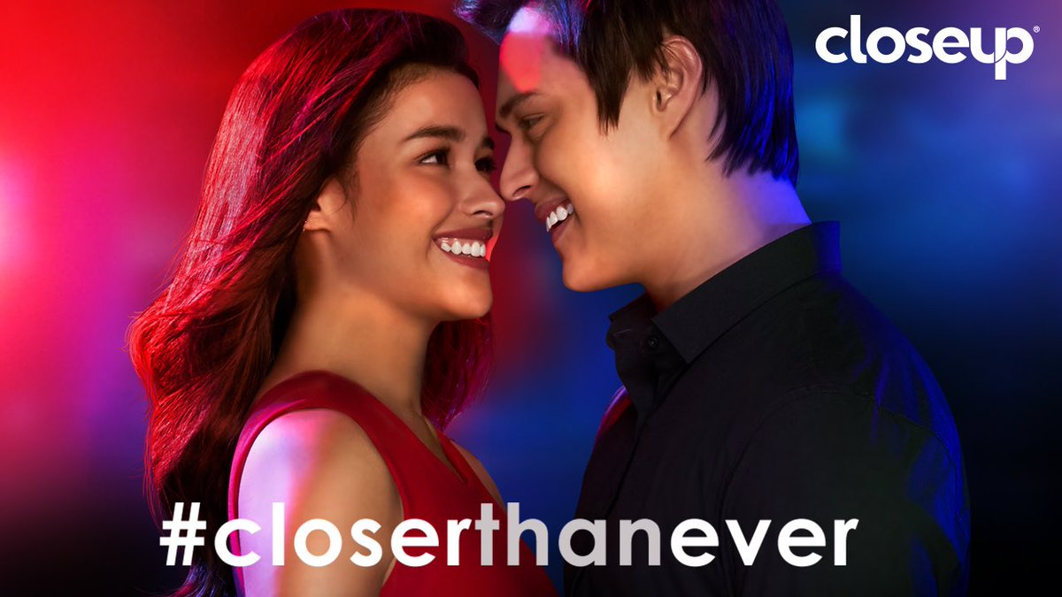Closeup challenged us to get #CloserThanEver. Click the link below to see how intensely close we got! bit.ly/LizQuenCloserT…