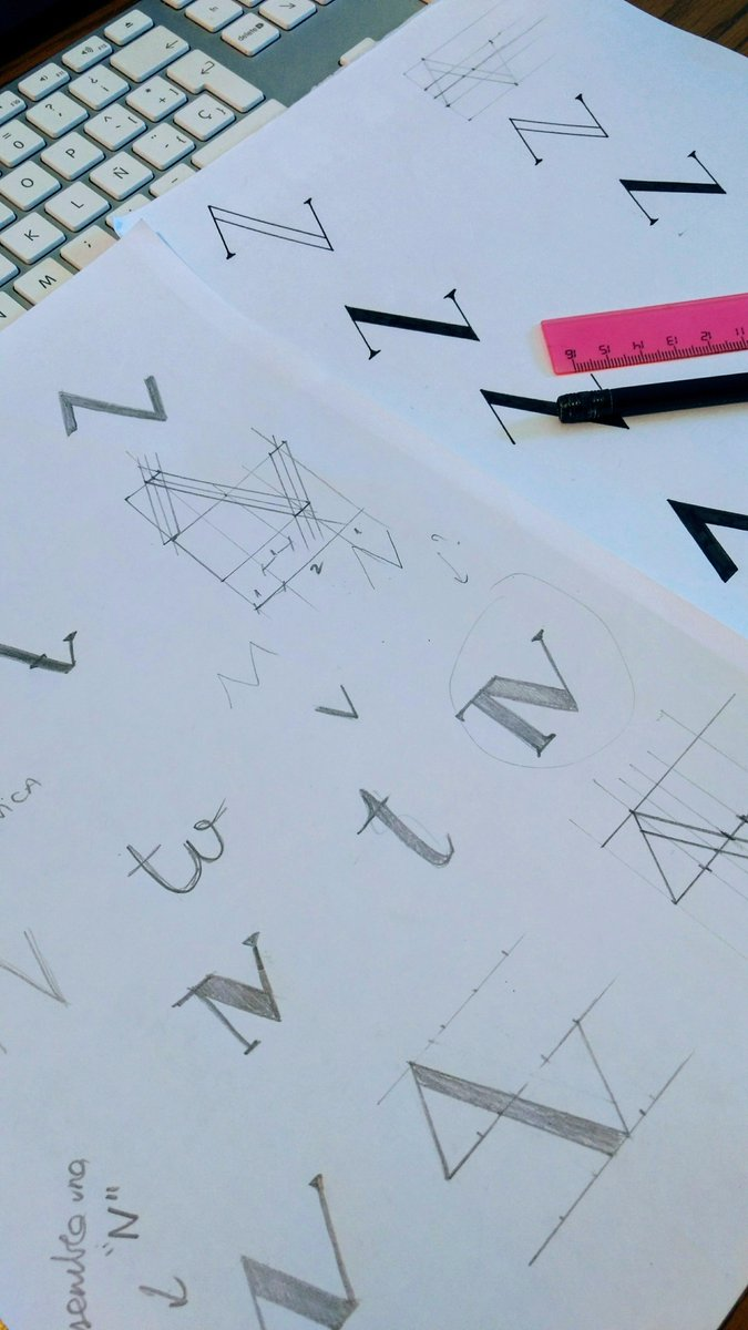 Some sketches from a new project  #ohmygraphicdesign #olot #girona #creatius #dissenygrafic #sketch #esbossos #branding #design<br>http://pic.twitter.com/tDMlzqEOYr