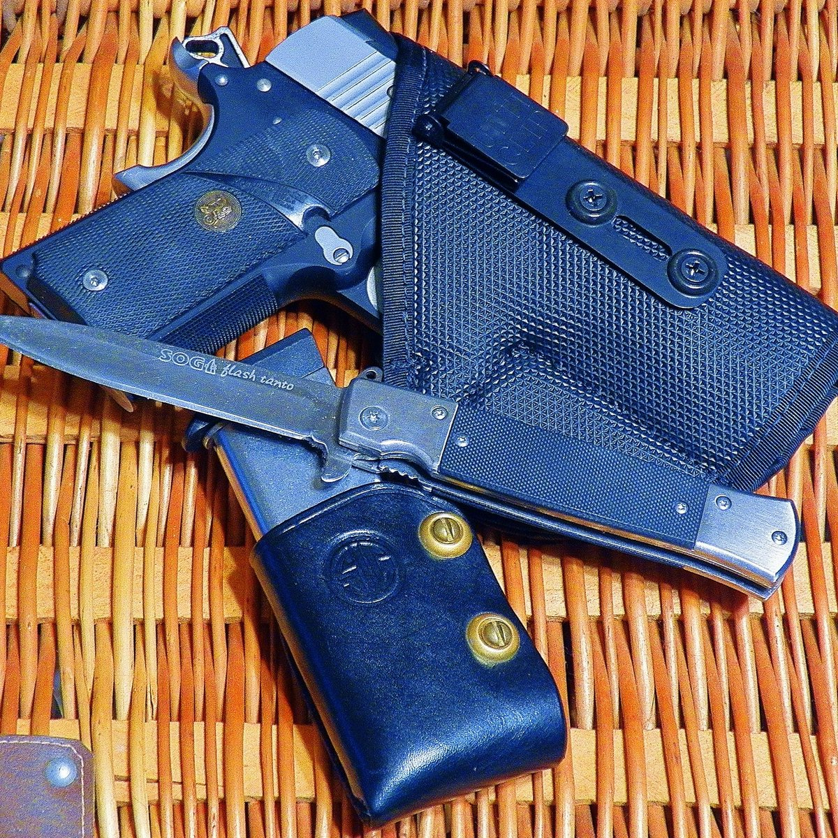 The #NextLevel of soft #IWB #EDC #holster for your #CCW #selfdefense #gun with the #security of an #Ulticlip. #2A  http:// ccgofalabama.com  &nbsp;  <br>http://pic.twitter.com/xGiiD403kM