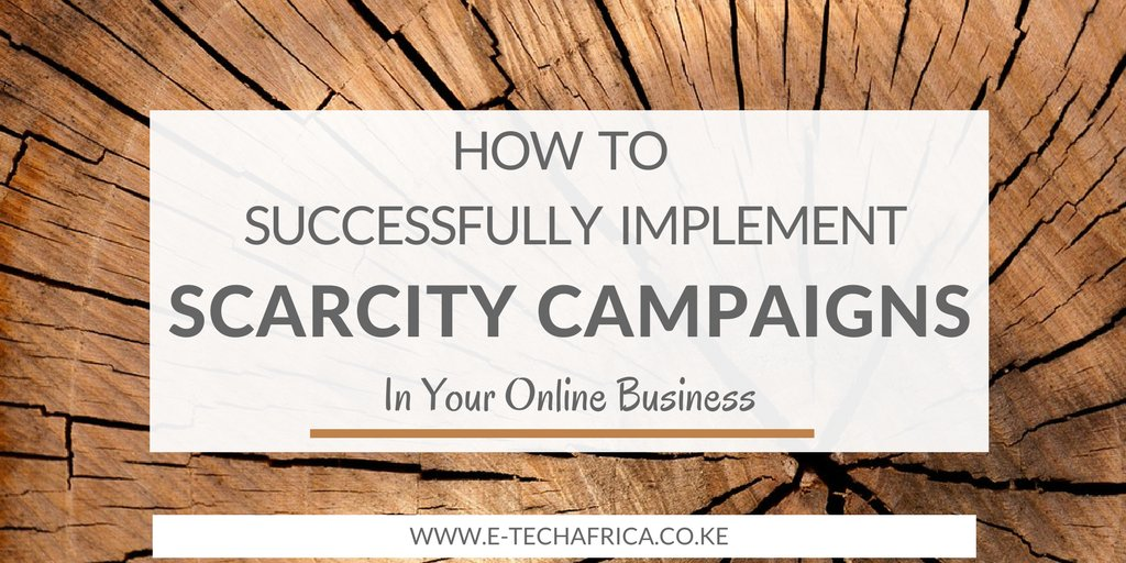 How To Successfully Implement Scarcity Campaigns In Your Online Business  http:// bit.ly/2uYPa5i  &nbsp;   #digital #strategy #startups #smm #online <br>http://pic.twitter.com/p9e3x8i8ra