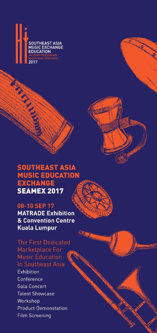 Coming soon SEAMEX 2017! #kualalumpur #ASEAN #musicindustry #MusicEducation #musicians #Universitymalaysia #musicproduction #talentshowcase<br>http://pic.twitter.com/R729MDAOPy