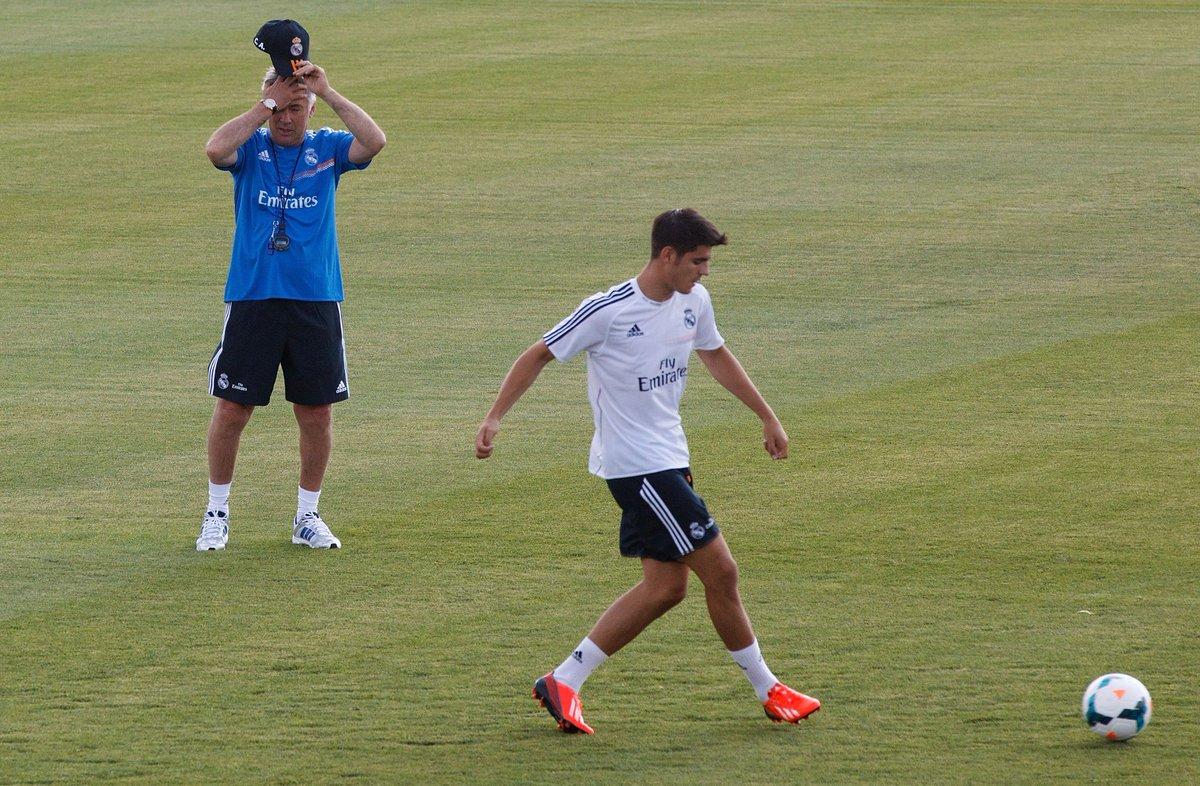 Ancelotti sobre Morata: 'El Chelsea ha hecho un gran fichaje. Es un de...