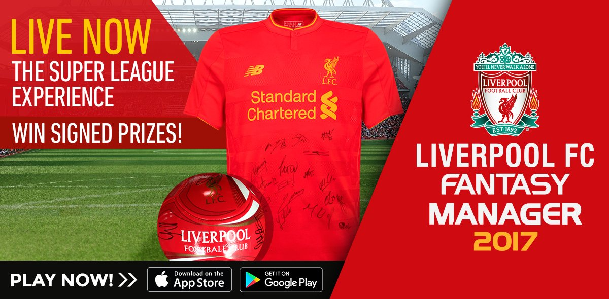 Compete for the Super League now and win signed prizes! 🏆  Download the game for free here: