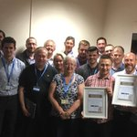 We've given an award to our IT & Information teams who worked over & above the call of duty after the #NHSCyberAttack