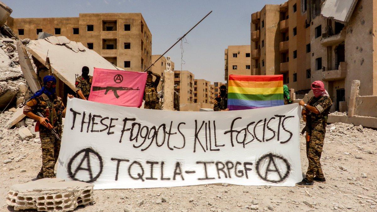Il existe désormais une unité de combattants LGBT contre Daesh