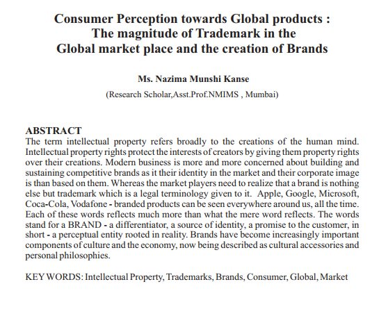 research on consumer perception toward big A customer perception and satisfaction survey for a chinese buffet by wei-chia tung a research paper  identify consumers' perceptions toward all-you-can-eat.