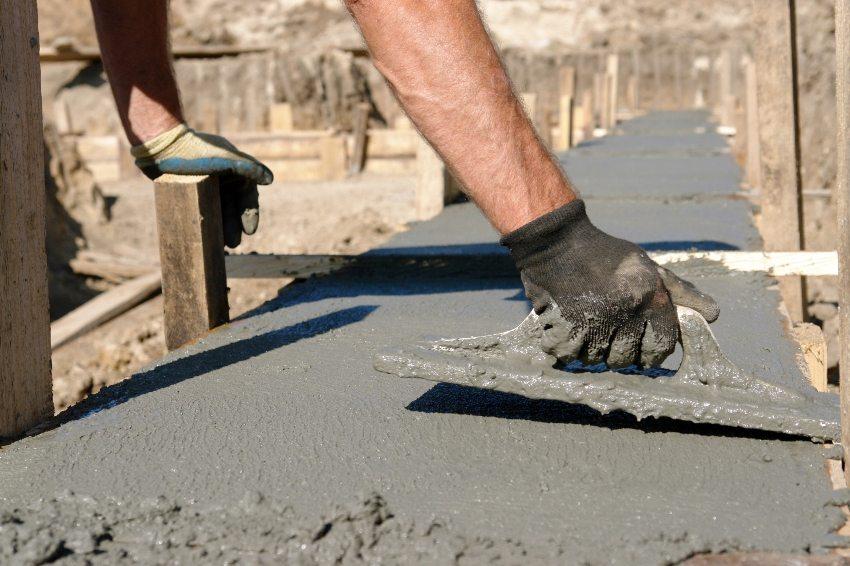 работа с бетонами