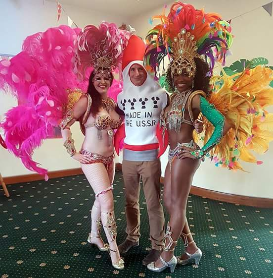 A #Cuban #fancydress #party with its very own missile! Hire #SambaLivre for spectacular #Latin #entertainment!  http://www. sambalivre.co.uk  &nbsp;   #RT<br>http://pic.twitter.com/IPRM8S4Bvo