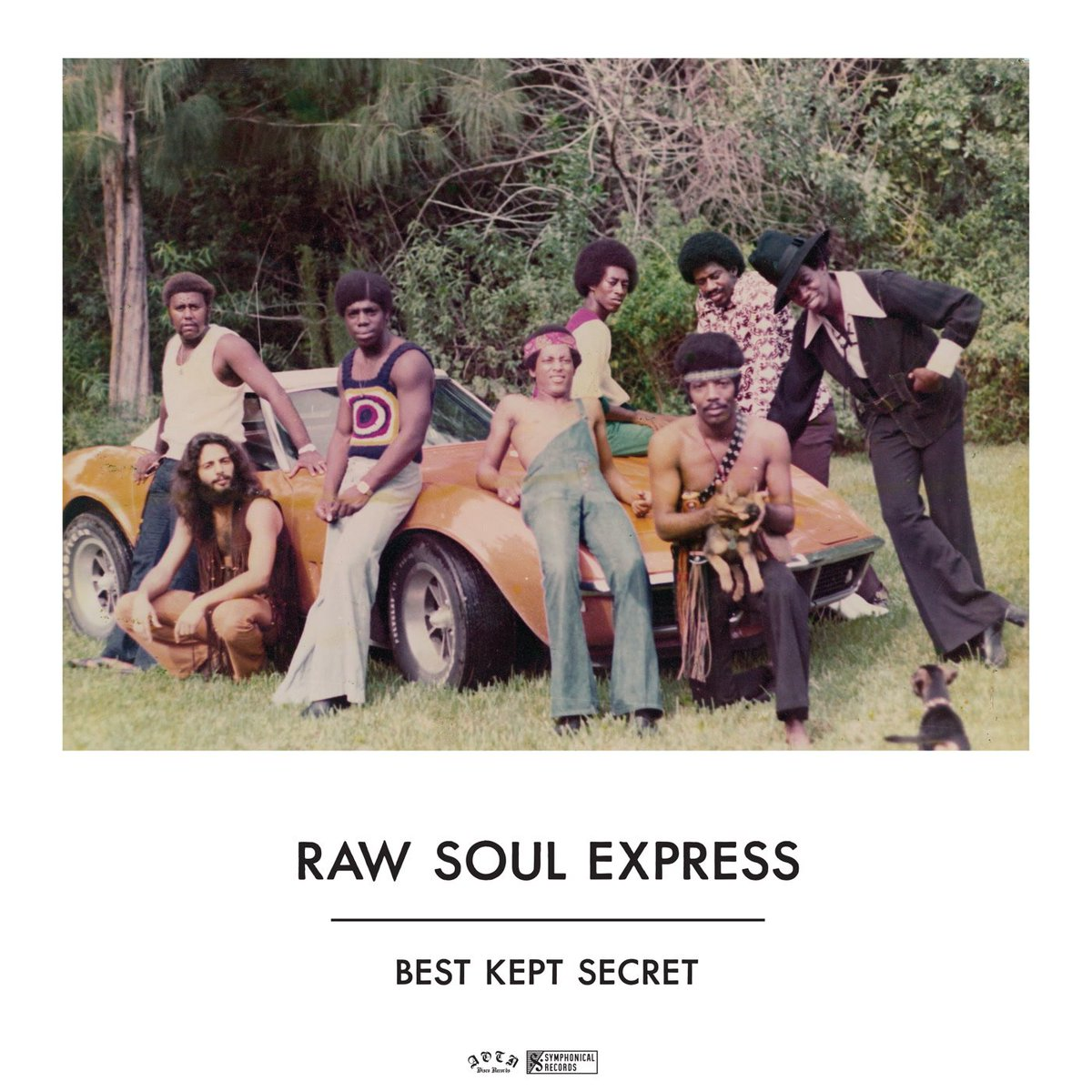 A rare 1977 LP from little-known Florida boogie crew Raw Soul Express...