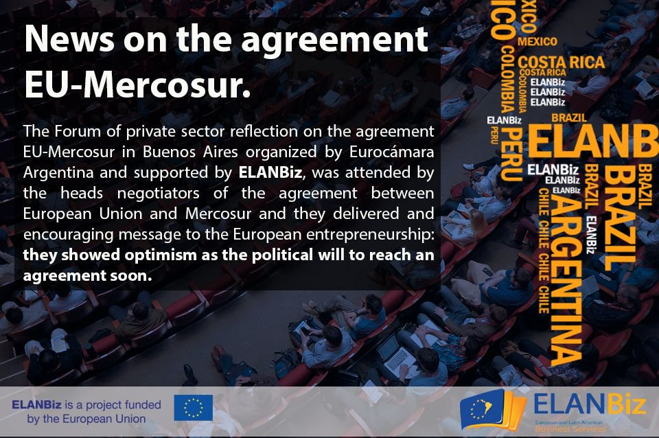News on the #Agreement #EU #Mercosur. Check the #ELANBiz #News section ---&gt;  http:// buff.ly/2unREbW  &nbsp;       <br>http://pic.twitter.com/ZeMafWAvNp