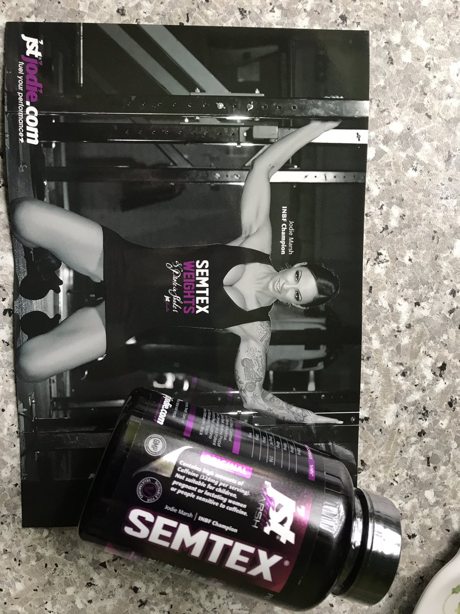 Super excited to get this going @JodieMarsh #gains #betterme<br>http://pic.twitter.com/ArPVZwFFxL