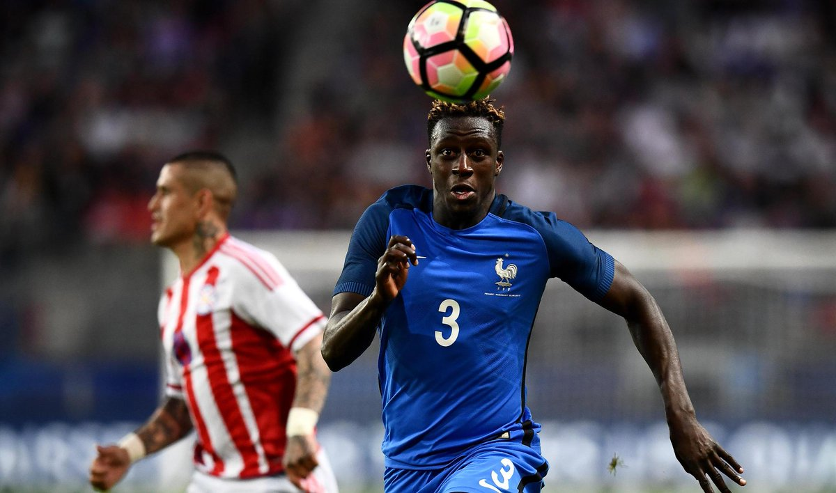 France left-back Benjamin Mendy joins @ManCity on a five-year deal fro...