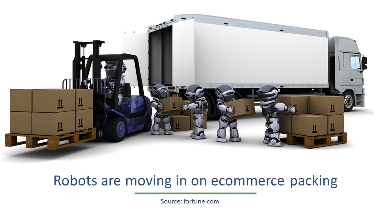 Robots are moving in on #ecommerce packing, Know more here:  http:// for.tn/2vA6g6D  &nbsp;   #retail #supplychain <br>http://pic.twitter.com/if2fuGnAPd