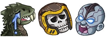 A new set of #QuakeChampions emotes by @bilvyy The last one is on standby for a new emote slot - get your sub on!pic.twitter.com/jGDKAIccQN
