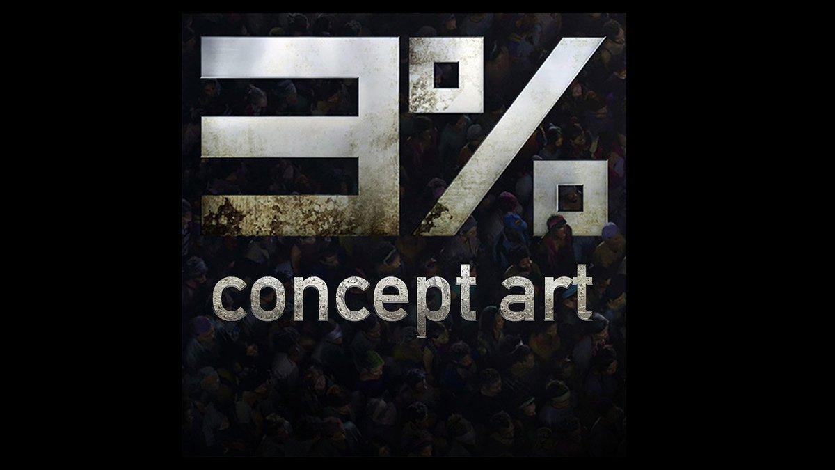 Um dos projetos deste ano. #3porcento #conceptart #scifi #netflix