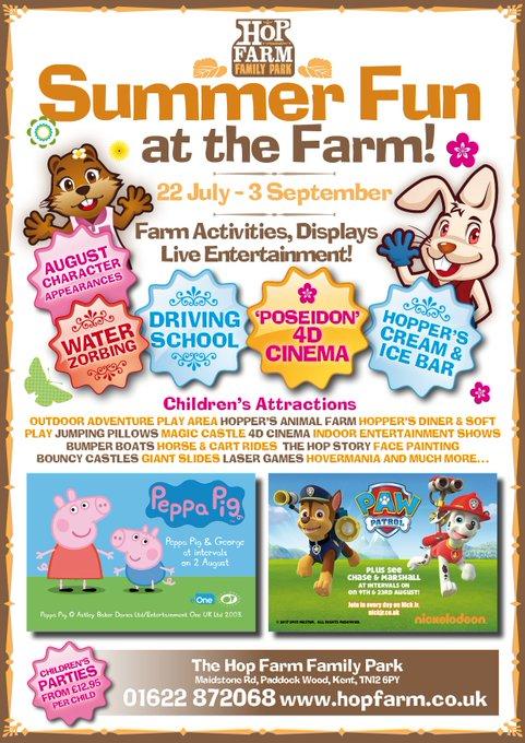 @VisitKent @DreamlandMarg and also a week on Wednesday @Hopfarm! https://t.co/uNCOy37K9A