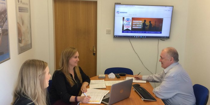 Enjoyed hosting @IWCFmontrose today - first glimpse of their new #CRM system we're developing. Read more  http:// bit.ly/CS-IWCF  &nbsp;   #OilAndGas<br>http://pic.twitter.com/dFsenwC8Og