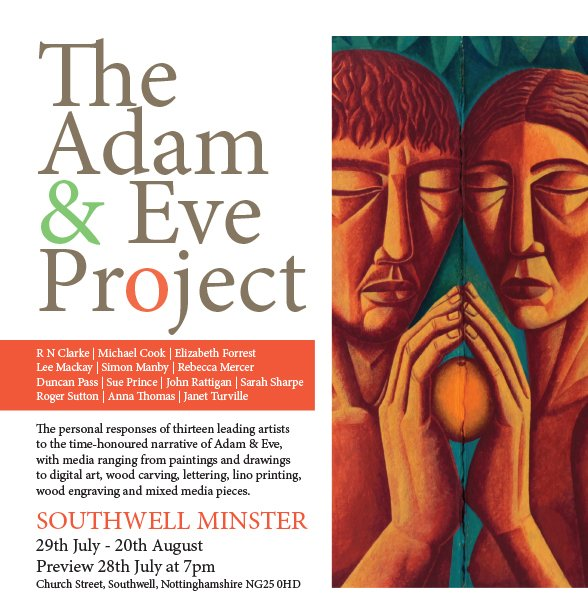 The Adam &amp; Eve Project starts @SouthwMinster this weekend Amazing work by thirteen artists in an amazing building #art #painting #print <br>http://pic.twitter.com/yio7G6GlAQ