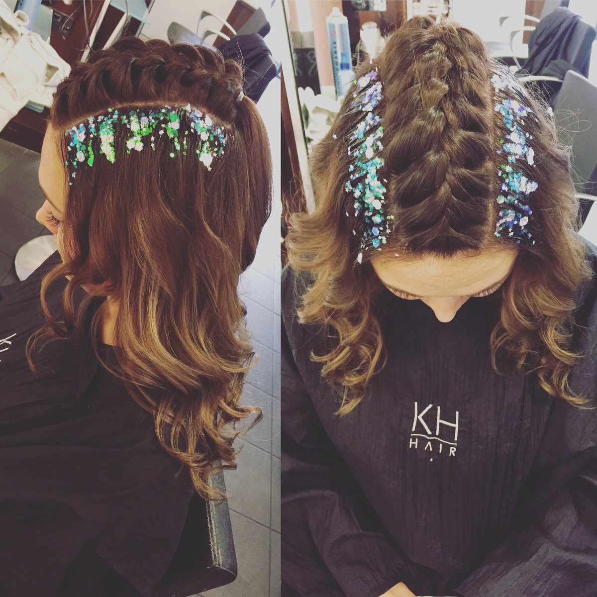 Braids &amp; Glitter by stylist Chloe @WellaEducation @WellaPro @thegypsyshrine #festivalready <br>http://pic.twitter.com/rt6shUgNkr