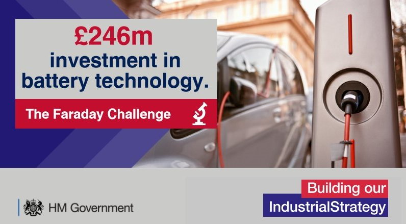Looking to expand to the UK? @beisgovuk launches £246m for research, innovation and scale-up of battery technology #automotive #batteries<br>http://pic.twitter.com/QVmYI8yWdC