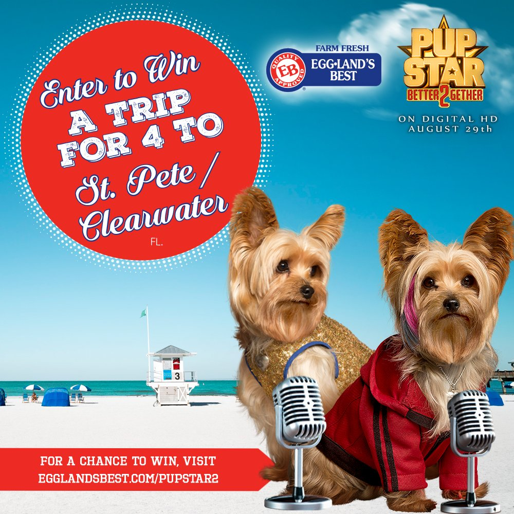 "Enter @EgglandsBest & @AIRBUD ""We're Better Together"" Sweepstakes to win a vacation for 4! https://t.co/0ISH0SOOjr https://t.co/s9e8gBwB0q"