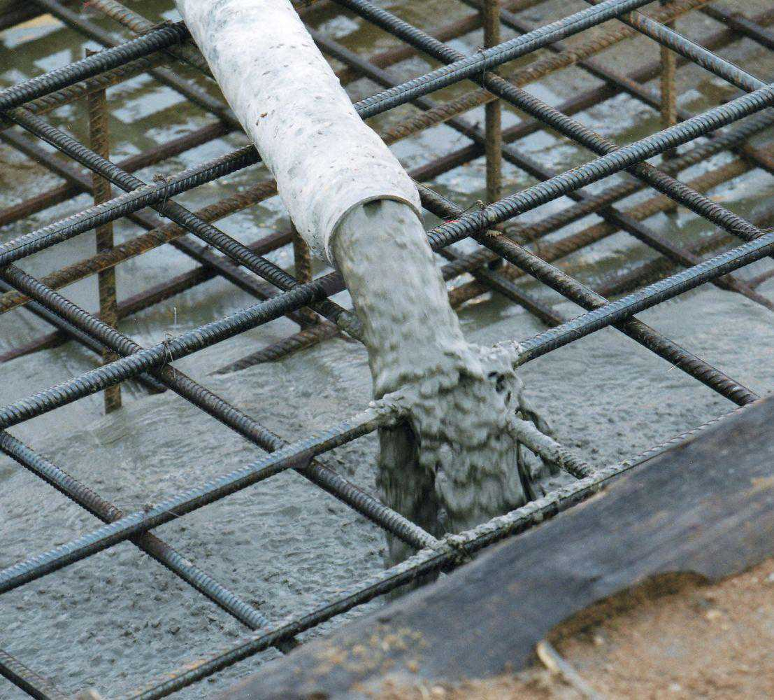 бетон заливка