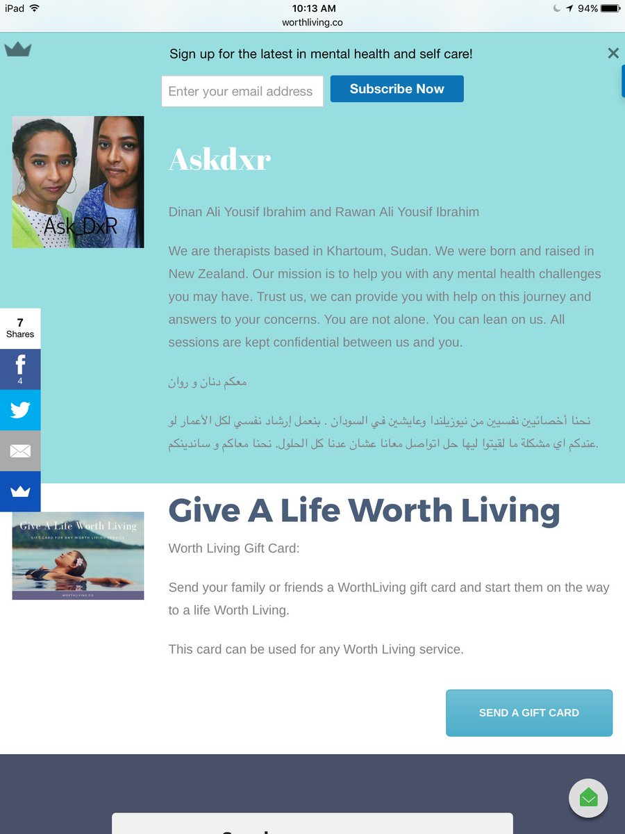 Counseling Onilne In #English &amp; #Arabic  http:// worthliving.co/counselling/  &nbsp;    #mentalhealth #therapy #recovery #sudan #uae #dubai<br>http://pic.twitter.com/9hb0S5u0fl