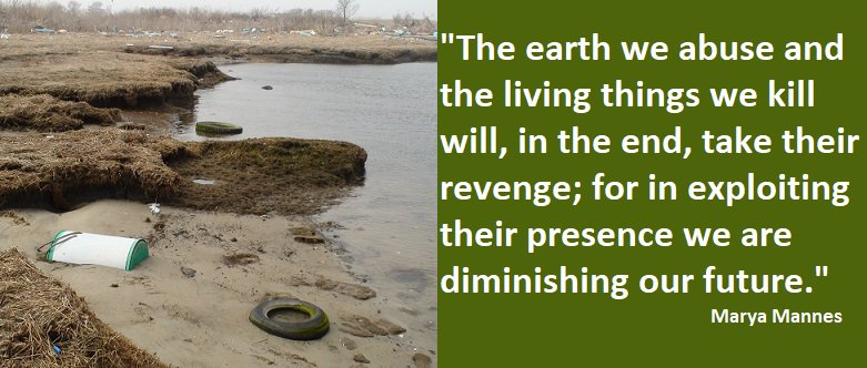 &quot;The earth we abuse and the living things we kill will,... for in exploiting their presence we are diminishing our future.&quot; #environment <br>http://pic.twitter.com/296wceyTZI