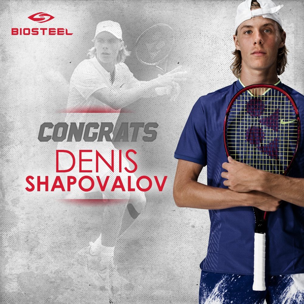 Image result for Denis Shapovalov wins match — and hearts — at Granby Challenger