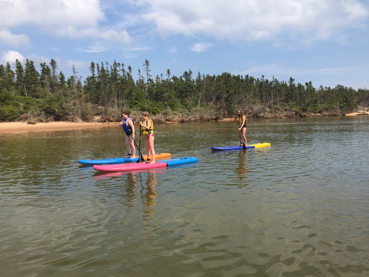 Gonna be a great day for a paddle! #paddle #adventures #souris #pei @SourisPE @PointsEastDrive #onthewater #beautyday <br>http://pic.twitter.com/M0ISZgUJ4E