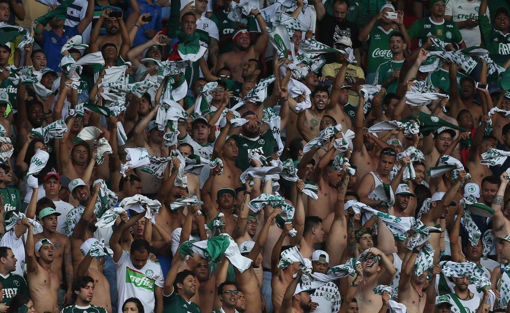 Obrigado, #FamíliaPalmeiras de Pernambuco! Vocês mandaram MUITO bem! 👏👊  📷 Cesar Greco/Palmeiras  #AvantiPalestra