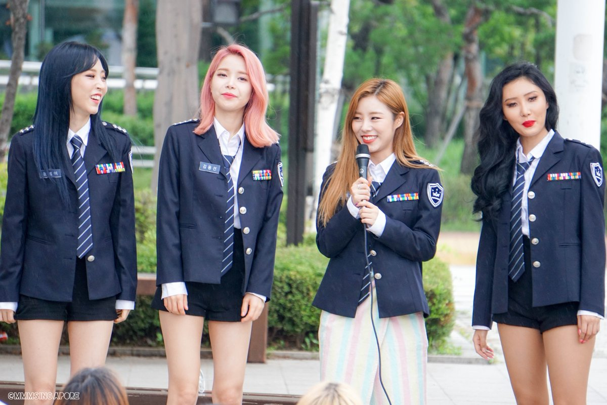 170715 Music Core Mini Fan Meeting #mamamoo #solar #moonbyul #wheein #hwasa<br>http://pic.twitter.com/CXzvo1RiM6
