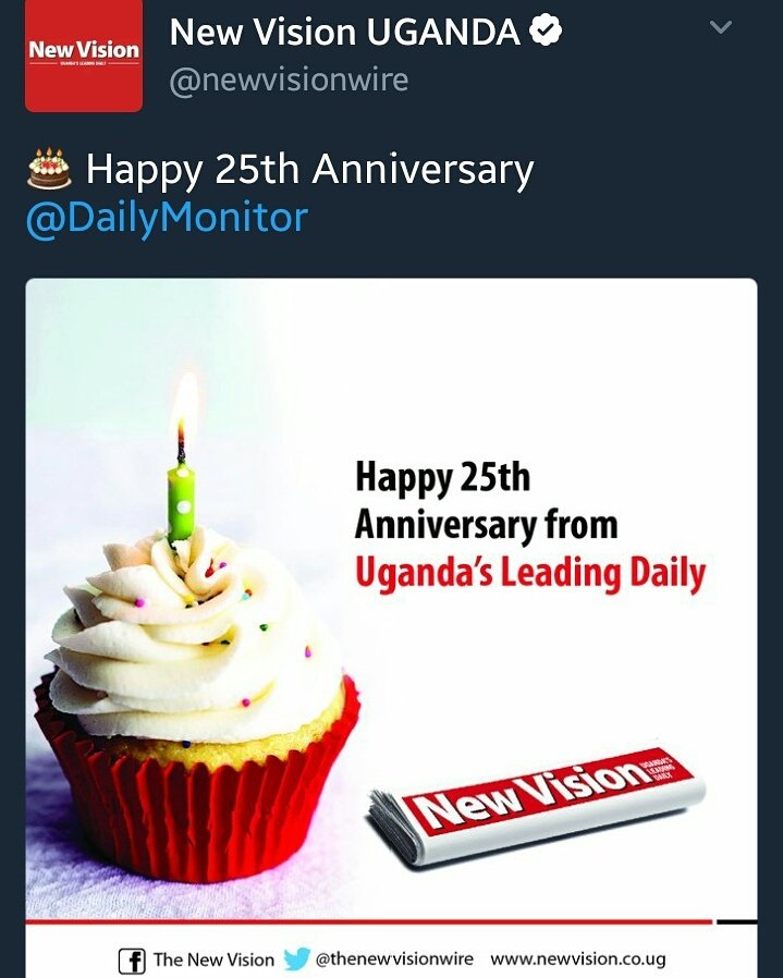 At least we got this right 💪💪💪 #MonitorAt25 Go .@newvisionwire cc. @UrbanTVUganda @VisionGrp https://t.co/o1jDqKqtf9