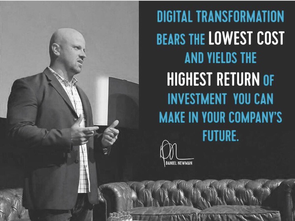 In case you are wondering what your business should invest in next. #DigitalTransformation, done well, will deliver the greatest #ROI! <br>http://pic.twitter.com/EaAuUA3gNg