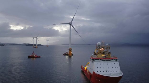 #Hywind, the world's first floating wind farm, will power 20,000 homes  http:// bbc.in/2vB2olJ  &nbsp;   #windpower #energy #Scotland<br>http://pic.twitter.com/1ow77bskEp