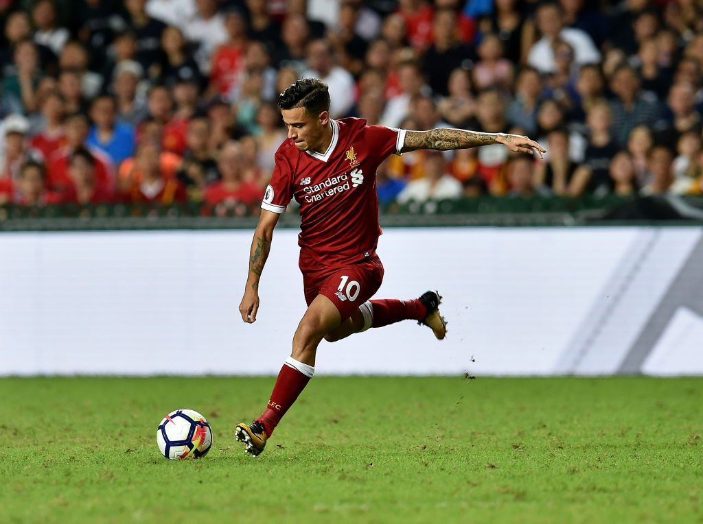 🎩 A magic display.  Watch @Phil_Coutinho\'s best bits from the #PLAsiaTrophy final: