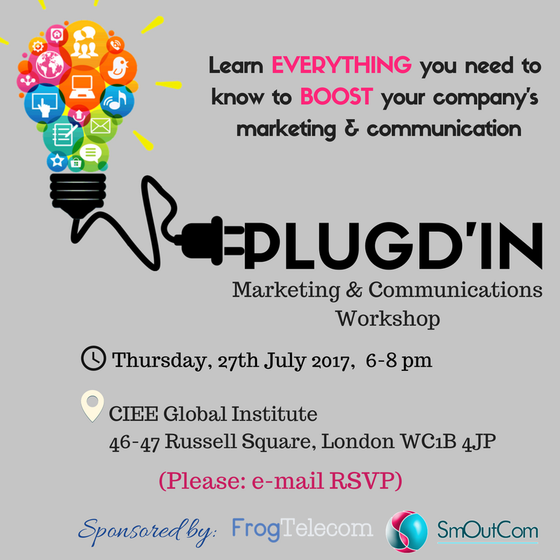 Join us on Thursday at 6 pm to learn everything you need to know to boost your company's #marketing and #communication! <br>http://pic.twitter.com/eAyiheEpKu