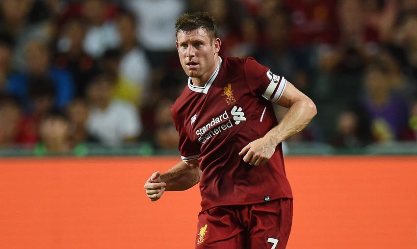 An update on James Milner\'s fitness: