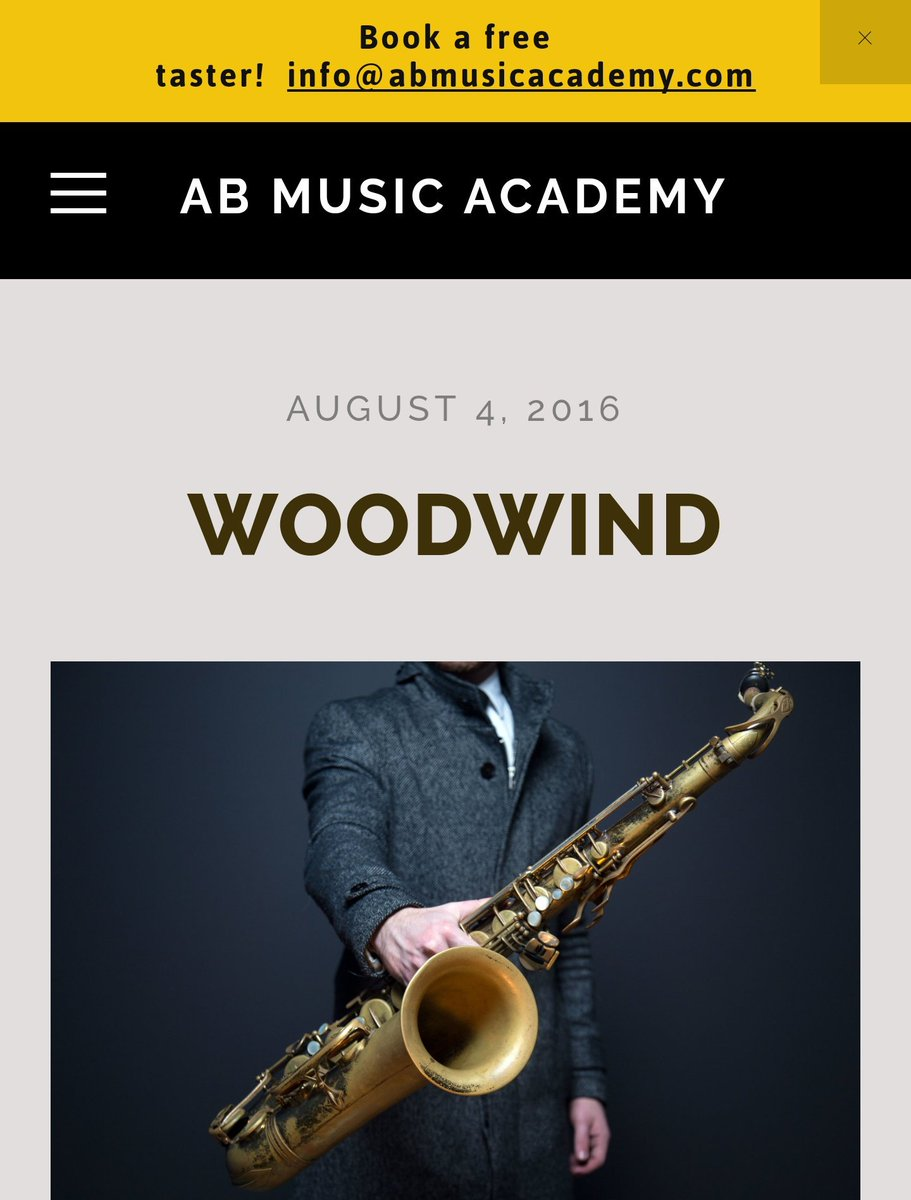 Would you like to #learn to #play a #woodwind #instrument ~ #book a #free #taster at  http://www. abmusicacademy.com  &nbsp;  <br>http://pic.twitter.com/JYkp9pgtG5