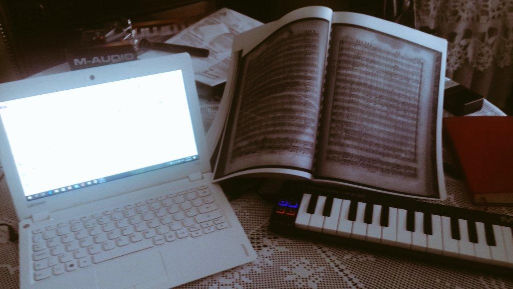 My critical editions in the making! @AvidSibelius @M_Audio_ #classicalmusic #orchestra #maestro<br>http://pic.twitter.com/54TgNOakjU