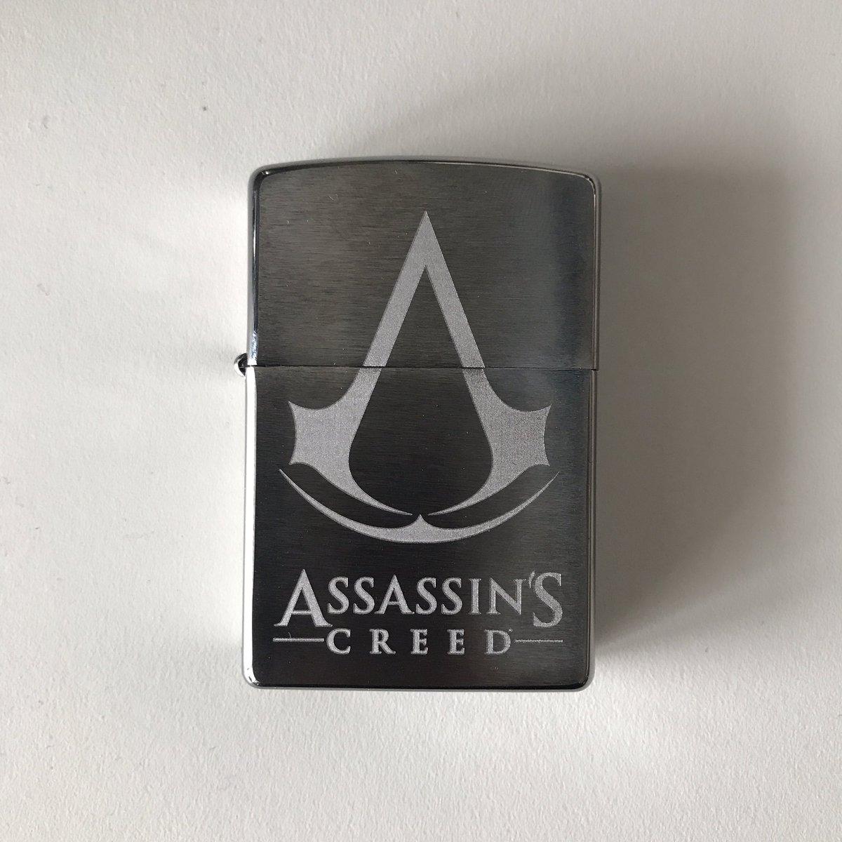 [CONCOURS] Je fais gagner un @Zippo #AssassinsCreed  RT pour tenter de gagner !  TAS le 26/07